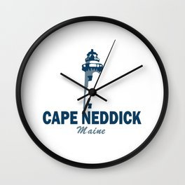 Cape Neddick - Maine. Wall Clock
