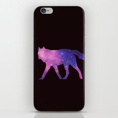 SPACE WOLF iPhone & iPod Skin