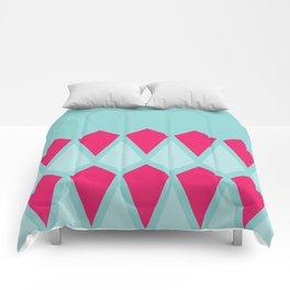 Blue Diamonds Comforters