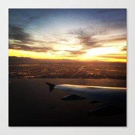 Goodbye Los Angeles Canvas Print