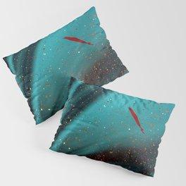 paint splatter stains blur Pillow Sham