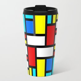 Bauhaus-esque Mid Century Modern 4 Travel Mug
