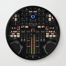 DJ Set NS7 Denon Mc6000 Wall Clock