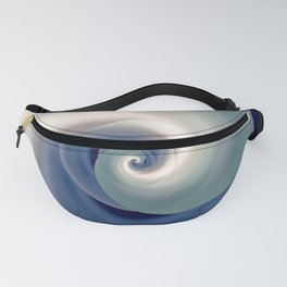 whirlwind abstract 3D digital art Fanny Pack
