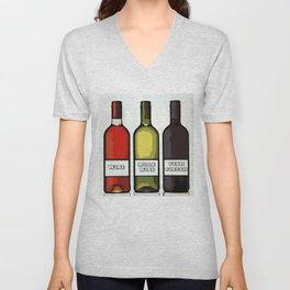 Wine Unisex V-Neck