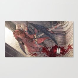 Trigger of Thymia Canvas Print