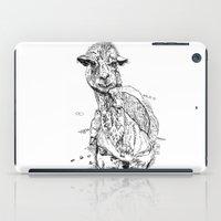 llama iPad Cases featuring Llama by ARI(Sunha Jung)