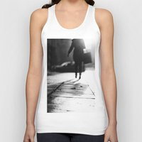 shopping Tank Tops featuring Light Shopping by Erik Witsoe Photography