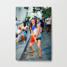 Parisian Mugshots - Euro 2016 (Gueules de Parisiens) Metal Print