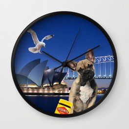 Achio in Sydney Wall Clock