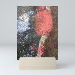 Rusty art rose Mini Art Print