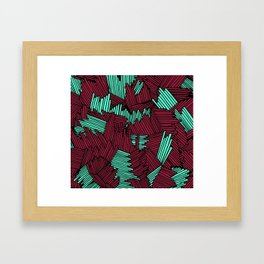 Happy Abstract Nr:02 Framed Art Print