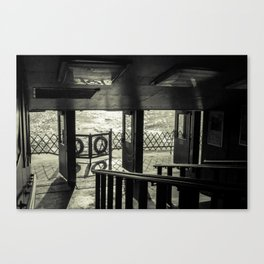 The Back of The Boat Canvas Print