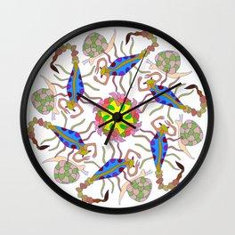 Scorpions & Snails Dance Wall Clock