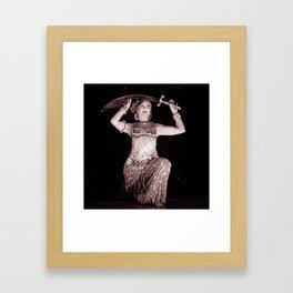 Cirque de Bijoux Framed Art Print