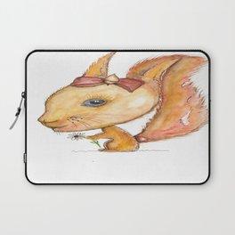 NORDIC ANIMAL - SUZY THE SQUIRREL / ORIGINAL DANISH DESIGN bykazandholly Laptop Sleeve