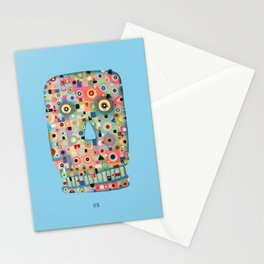 My Skull Stationery Cards