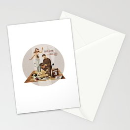 Just Gimme Indie Rock | Collage Stationery Cards