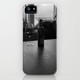 Overcast Red iPhone Case