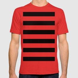 Simply Stripes in Midnight Black T-shirt