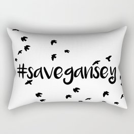 Save Gansey Rectangular Pillow