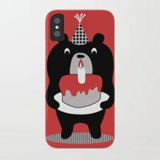 Cake Bear iPhone X Slim Case