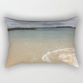 Beautiful clear water at Yarra Bay Beach Rectangular Pillow
