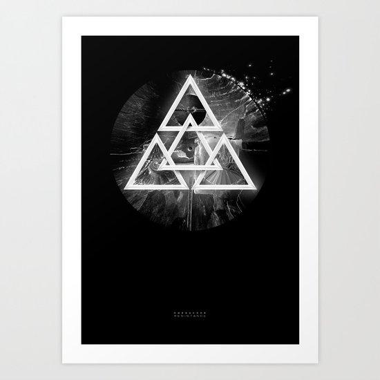 Omega Code - Resistance Art Print