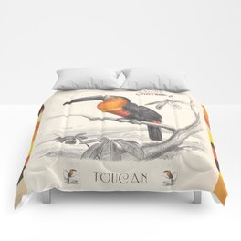 Toucan Bird Responsible Travel Art Comforters