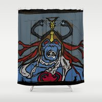 thundercats Shower Curtains featuring the ever-loving by Melvin Pena