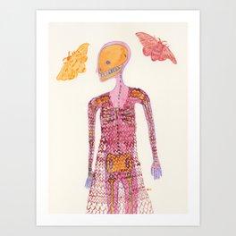 Knit Dress Art Print
