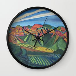 Topa Winery Wall Clock