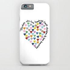 Hearts Heart Teacher iPhone 6s Slim Case
