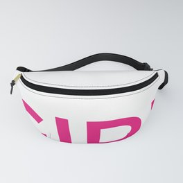 It's A Girl Baby Announcement Design, Pregnancy Tees Fanny Pack