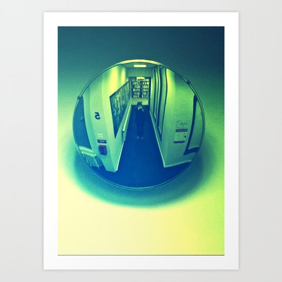 Mirror Ball #2 Art Print