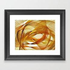 Autumn Indecision Framed Art Print