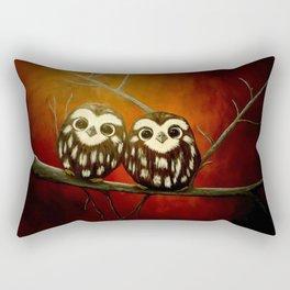 Baby Owls Rectangular Pillow
