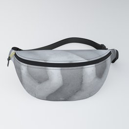 Pattern in snow Fanny Pack