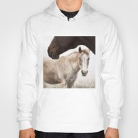 horses Hoodies featuring Horses by Ash W