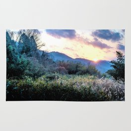 Mountain Sunrise Rug
