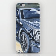 Black on Black {Cadillac CTS Painting} iPhone & iPod Skin