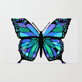 The Shattering Butterfly Rug