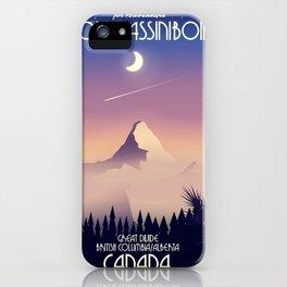 Distant Snow- 遠雪 : linocut iPhone 11 case