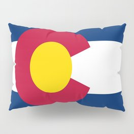 flag colorado,america,usa,south,desert, The Centennial State,Coloradan,Coloradoan,Denver,Springs Pillow Sham