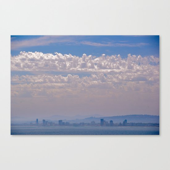Smoky Sky Canvas Print
