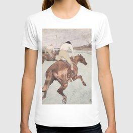 """Henri de Toulouse-Lautrec """"Le Jockey"""" T-shirt"""