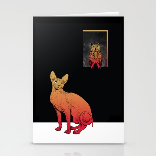 We Own The Night Stationery Cards