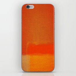 Art contemporary abstract iPhone Skin