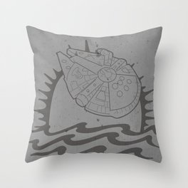 The Smuggler's Brand Throw Pillow
