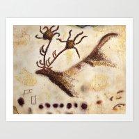 Lascaux Art Print